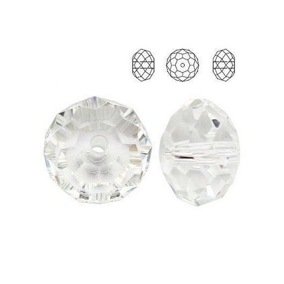5040 Swarovski CRYSTAL Briolette  perfect for earwires and pendants 4mm jewelry supplies
