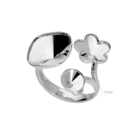 Sterling Silver Ring Adjustable