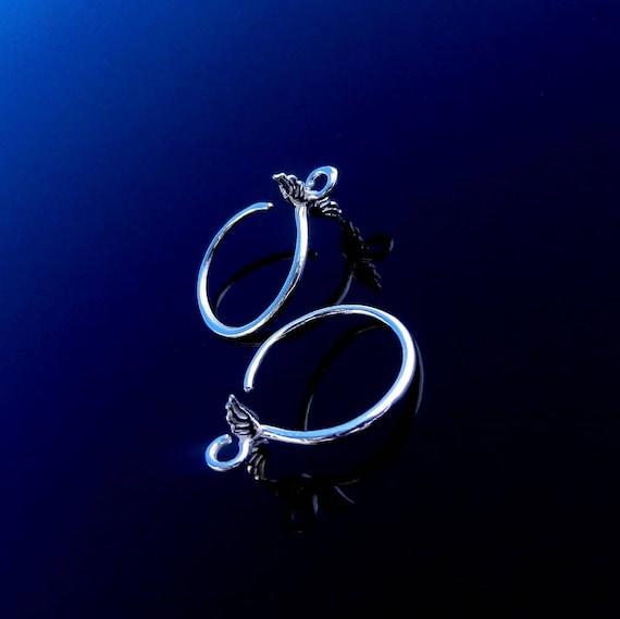 Sterling Silver Earring Hooks Ear Wires Earring Hooks Silver french hooks Silver Earring Hooks