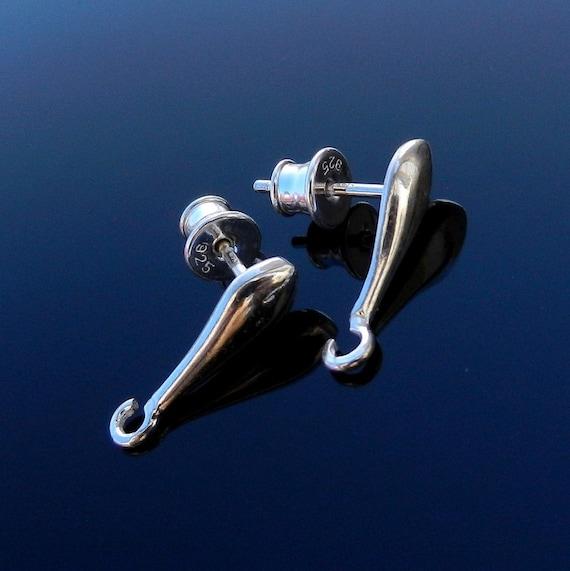 Sterling silver ear post silver earring post stud earring posts earrings findings jewelry supplies