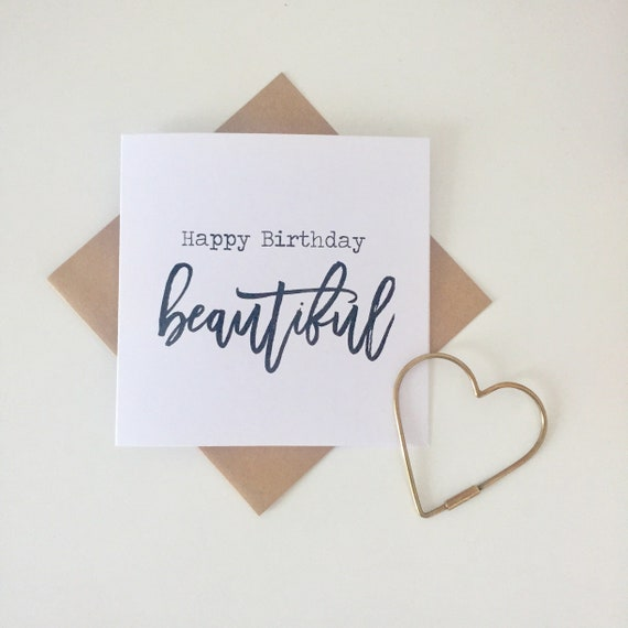 Happy Birthday Beautiful Greeting Card For A Special Friend