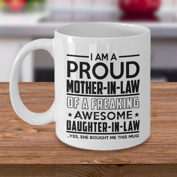 Moederdag 2019 Grappig Cadeau Schoonmoeder Schoondochter Koffie Mok Voor Schoonmoeder Verjaardag Kerst Thanksgiving St Patricks Day