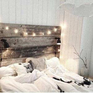 Scheune Holz Kopfteil Brett Aufgearbeiteten Holz, Nachttisch Möglichkeit  Sonderangebot 20 % Rabatt Verkauf Frei Schiff