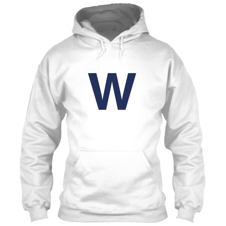online retailer c5063 ad34a Chicago Cubs Hoodie Fly The W White S M L XL 2XL 3XL 4XL 5XL Wrigley Field  Scoreboard Win Flag Banner 2016 World Series Logo Icon Emblem NEW