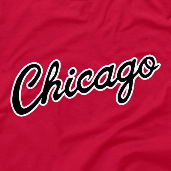 Chicago Bulls NBA di basket nero rosso regalo sciarpa USA ufficiale