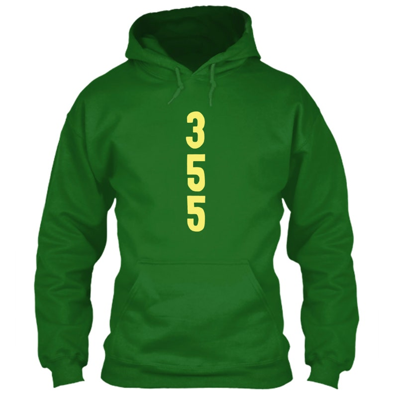 newest 1b1df afb71 Chicago Cubs Hoodie 355 Wrigley Field Ivy Green Size S M L XL 2XL 3XL 4XL  5XL Left Outfield Brick Wall Paint World Series Friendly Confines