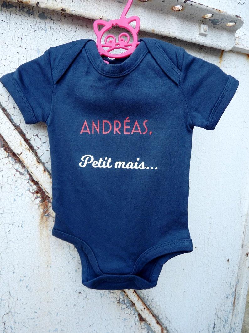 Mon Baptême Jour personnalisé bébé gilet Baby Grow 100/% Coton Garçons Filles bodys