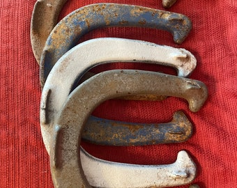 Vintage pitching horseshoe game by Royal, St. Pierre, Worcester, MA.