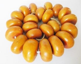 Bernstein oval orange Feuer Design Ohrringe Ohrstecker 925 Sterling Silber neu