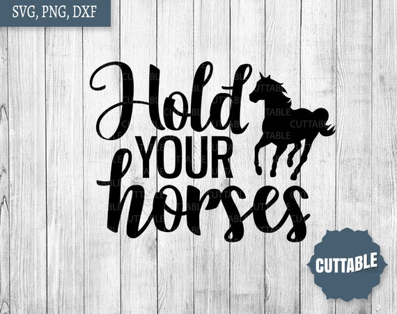 Vector Illustration Of Equine Equestrain Work Horse - Hold Your Horses  Clipart (#3474228) - PikPng