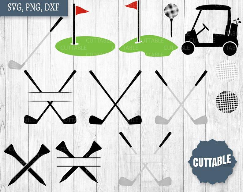 Download Golf cut files SVG golf cut files golf club monogram svg ...