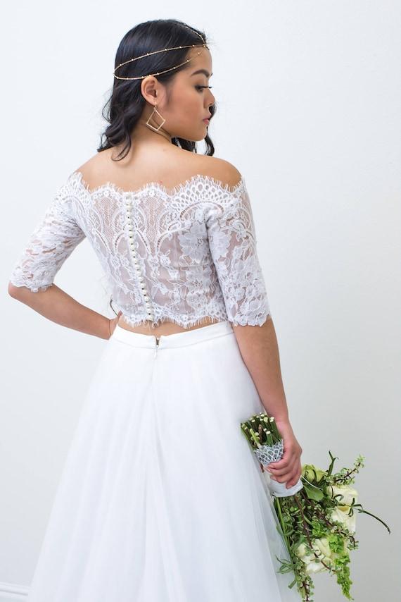 Wedding Dress Boleros and Shrugs Wedding Bolero Custom | Etsy
