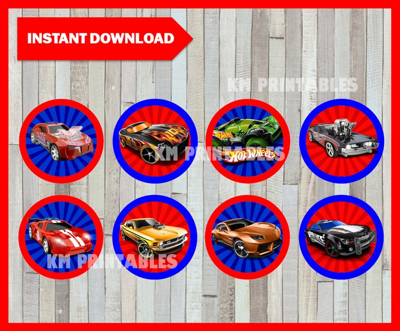 photograph relating to Hot Wheels Printable titled Printable Scorching Wheels Cupcakes toppers fast obtain, Incredibly hot Wheels occasion Toppers, Printable Sizzling Wheels Toppers