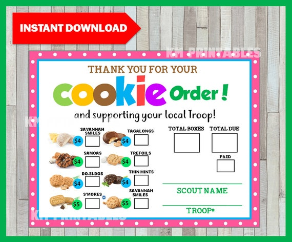 picture about Printable Girl Scout Cookie Order Form referred to as Woman Scout 2019 Cookie Time Purchase Sort, LBB Bakery, Lady Scouts Cookie Orders, Female Scout Cookies, GS Cookies, Printable, Quick Obtain