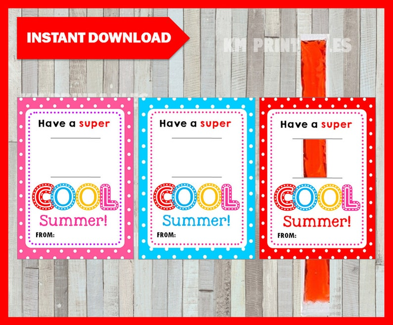 picture about Have a Cool Summer Printable referred to as Include A Tremendous Awesome Summertime, Frozen Ice Pop Tag, Printable Fast Down load