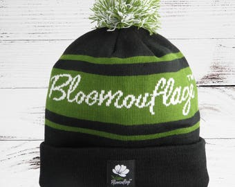 Bloomouflage Knitted Beanie Hat