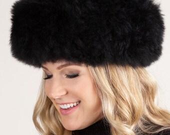 de39921ae33 PREMIUM Peruvian Baby Alpaca Fur Hat natural color