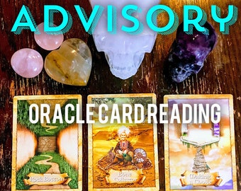 Advisory 3 Card Intuitive Oracle Reading Service