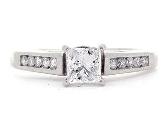 Diamond Ring, 0.87ct, 14K Gold (14R311)