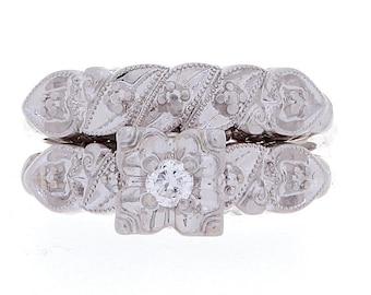 Diamond Ring, 0.08ct, 14K Gold (14R307)