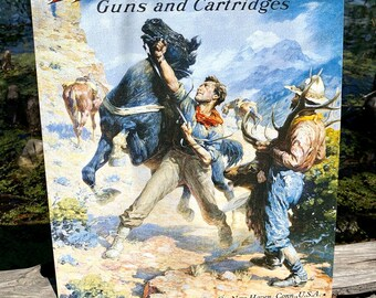Unopened Tin Winchester Sporting Arms /& Ammunition Vintage Winchester Cheyenne 300 Piece Jigsaw Puzzle