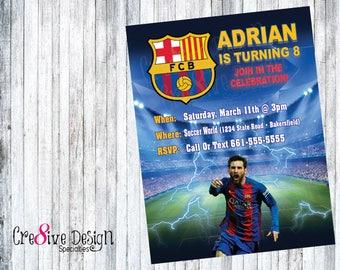 Spain Barcelona Birthday Customised Card