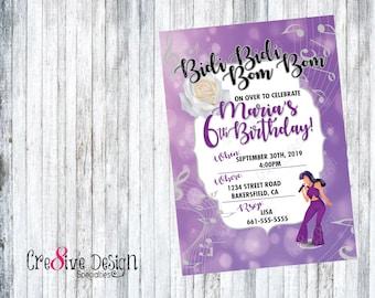 SELENA QUINTANILLA Printable Birthday Invitation, Selena Birthday, Selena Party, Selena Invitation, Selena Quintanilla Party Supplies