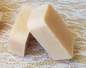 Mini Lovespell Goat's Milk Soap, Luxorious Goat's Milk Soap, Oatmeal Exfoliation, Skin Nourishing, Homemade Soap, Handcrafted Soap