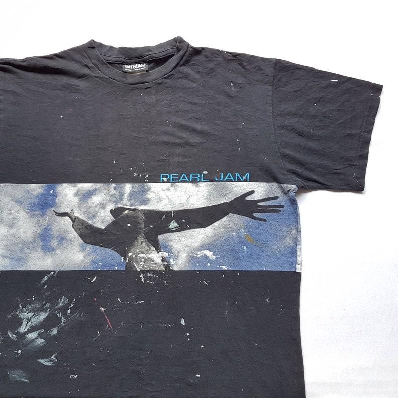 W 23.5 x L 28.5 Mother Love Bone Temple Of The Dog Smashing Pumpkins Vintage 1998 Pearl Jam Yield Tour T Shirt size L