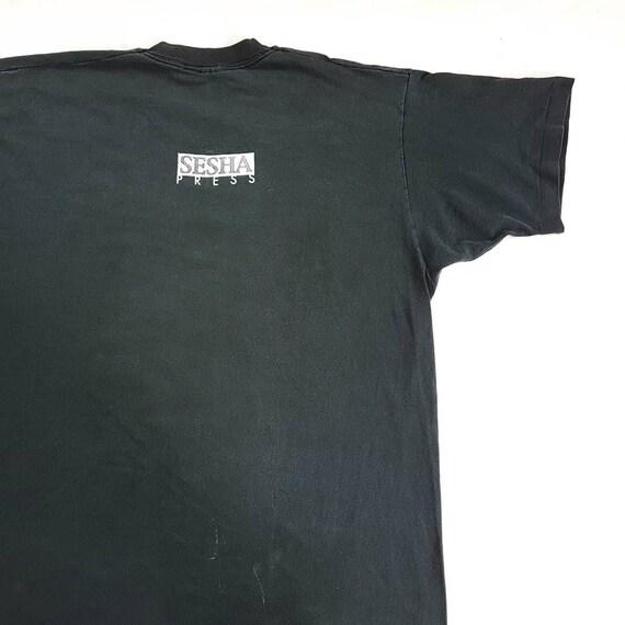 Vintage 90's 187 Calm T Shirt size XL (W 23 x L 3… - image 4