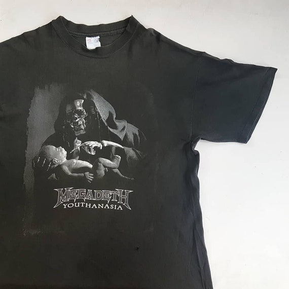 W Megadeth Is Vintage Danzig Anthrax T 9 Shirt Hell Youthanasia Where x Metallica 23 L Megadeth Sepultura 90's Arizona Slayer The 28 qwYPSCw