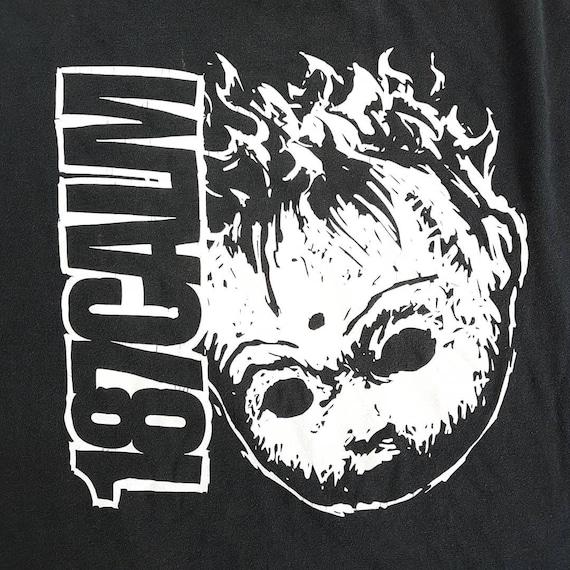 Vintage 90's 187 Calm T Shirt size XL (W 23 x L 3… - image 2