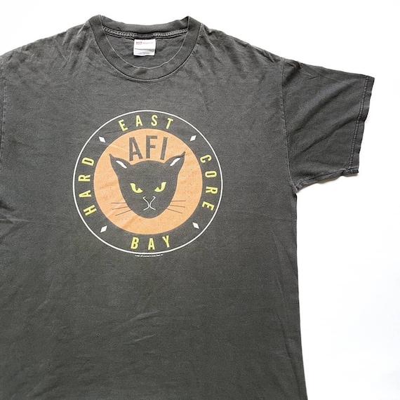 Vintage 1999 AFI East Bay Hard Core T Shirt size L
