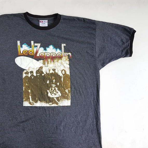90's Sabbath L Shirt Led Zeppelin x Zeppelin 30 Floyd W II Pink XL 5 Vintage Beatles T Black 23 Led Rolling size Stones Ringer dpOqnWR