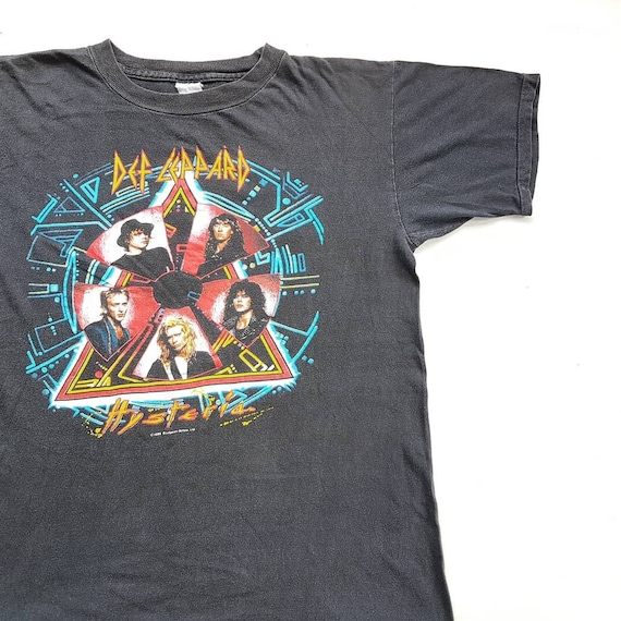 All-Over Front /& Back Print Youth T-Shirt Hyteria DEF LEPPARD