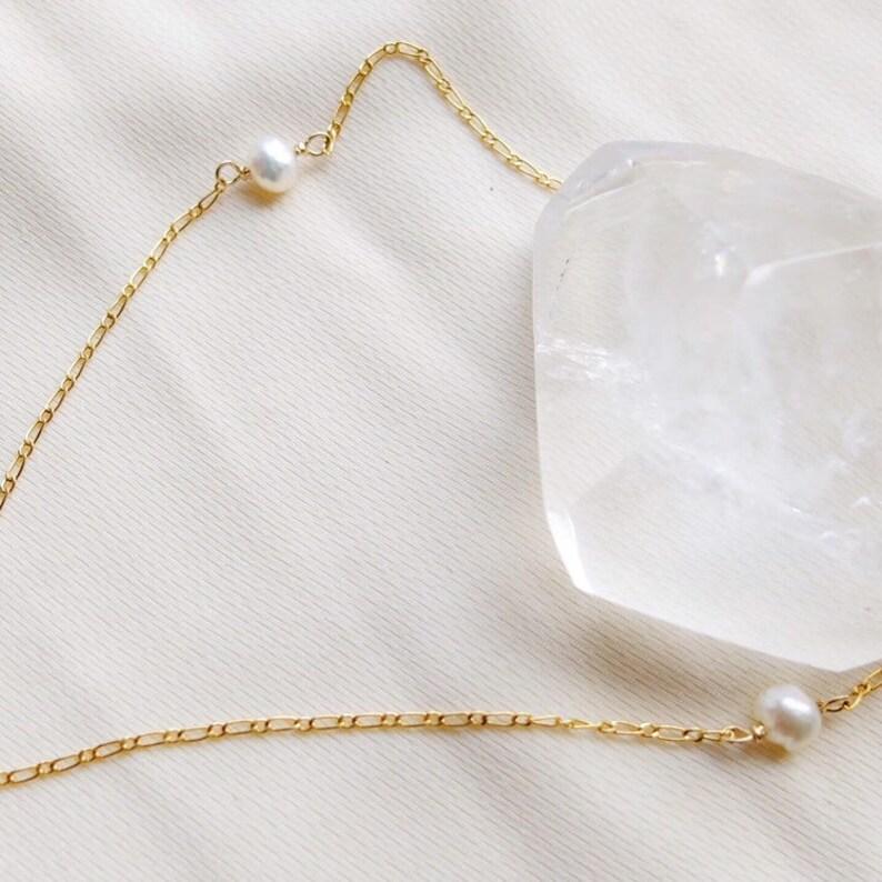 Pearl Choker ~ Pearl Choker in 14 K Gold