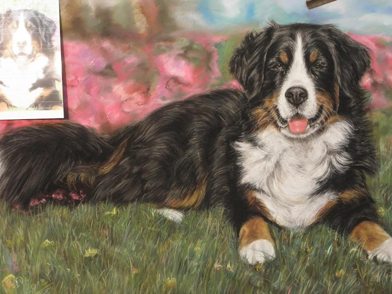 Custom  Pet portrait Custom dog painting Dog Cat painting Handmade gift present
