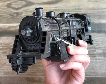 Vintage Black Plastic Lionel Mechanical Train Coal Engine Car