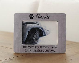 Pet Loss, Pet Memorial, Memorial Frame, Pet Memorial Frame, Cat Loss, Cat Memorial, Pet Sympathy Gift, Dog Loss Frame