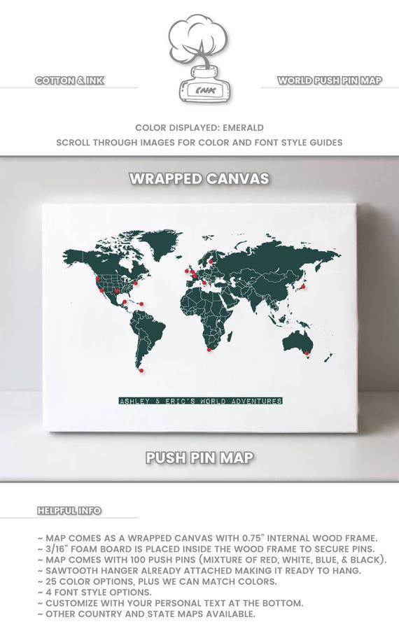 Small world map poster vintage world map print small world map gumiabroncs Image collections