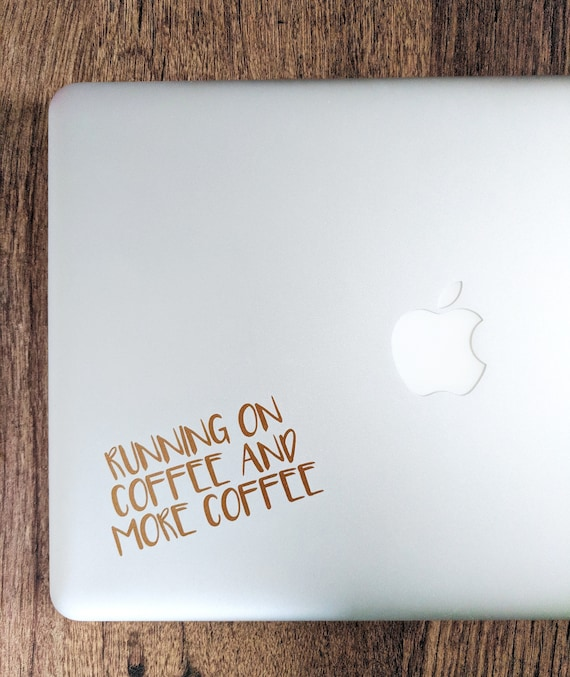 Coffee Decal Sticker Gift For Lover
