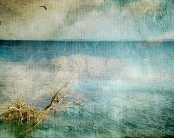 """Photo art color """"The sea"""" 30cm x 20cm  Art paper print"""