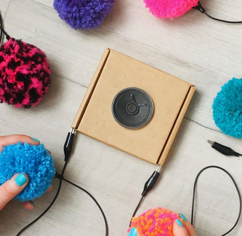 DIY Pompom Musical Instrument Kit: craft with e-textiles to image 0