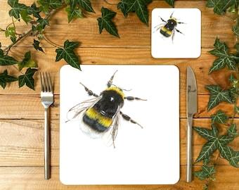 Bee Placemat | Bee Tablemat | Bee Homeware | Bee Tableware | Bee Decor | Bee Coaster