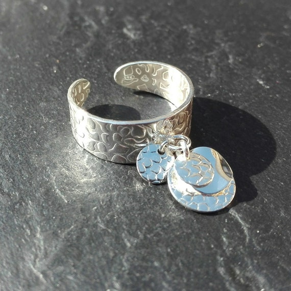 925 silver boho ring, stampring - Boho Jewelry - Women's Jewelry - Gift for her