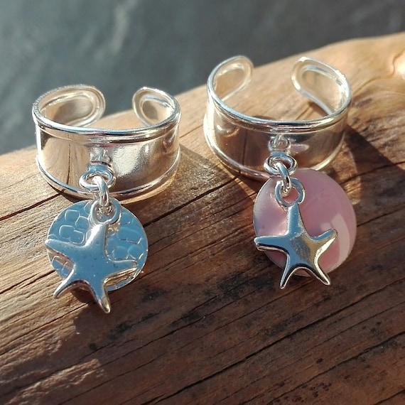 Ring for little girl boho silver 925 - Boho Jewelry - Gift for little girl