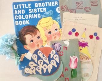 Vintage Children's Art Collection