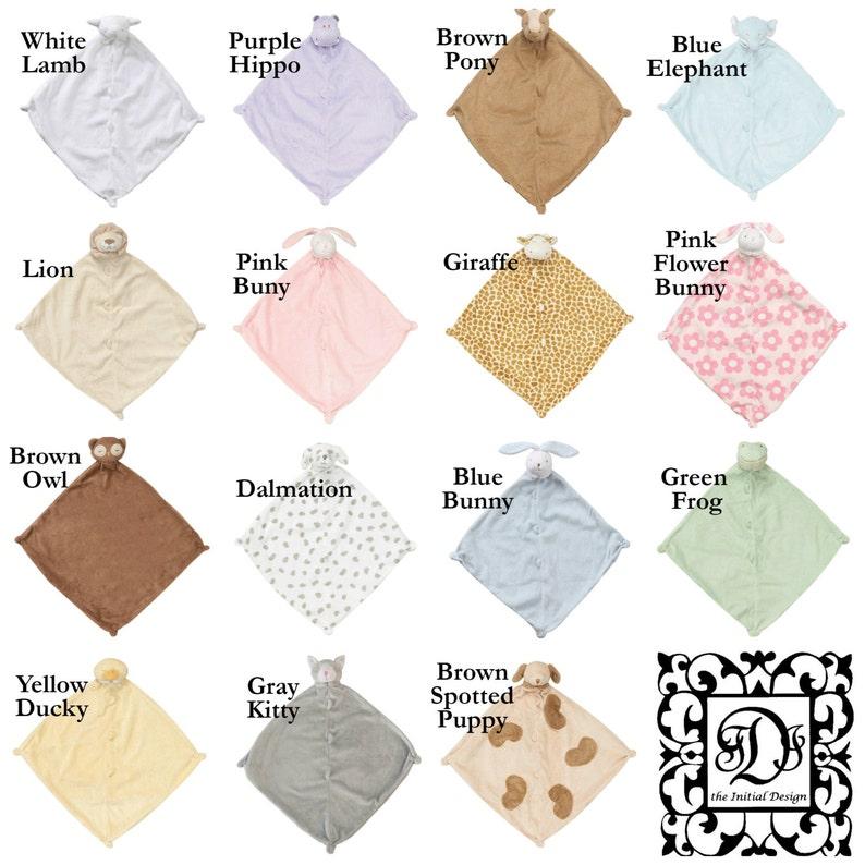 Lion Lovie with Name  Personalized Lovie Blanket  Personalized Security Blanket  Personalized Lion Lovie  Monogrammed Lion Blanket