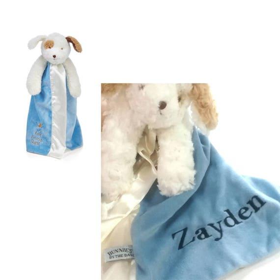 Skipit Dog Lovie With Name Personalized Lovie Blanket Etsy