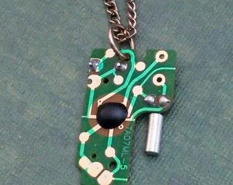 Circuit board pendant necklace